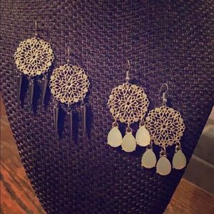 Sugar and spice earring set